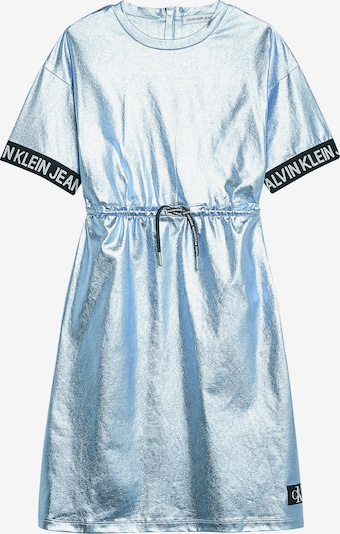 Calvin Klein Jeans Kleid in silber, Produktansicht
