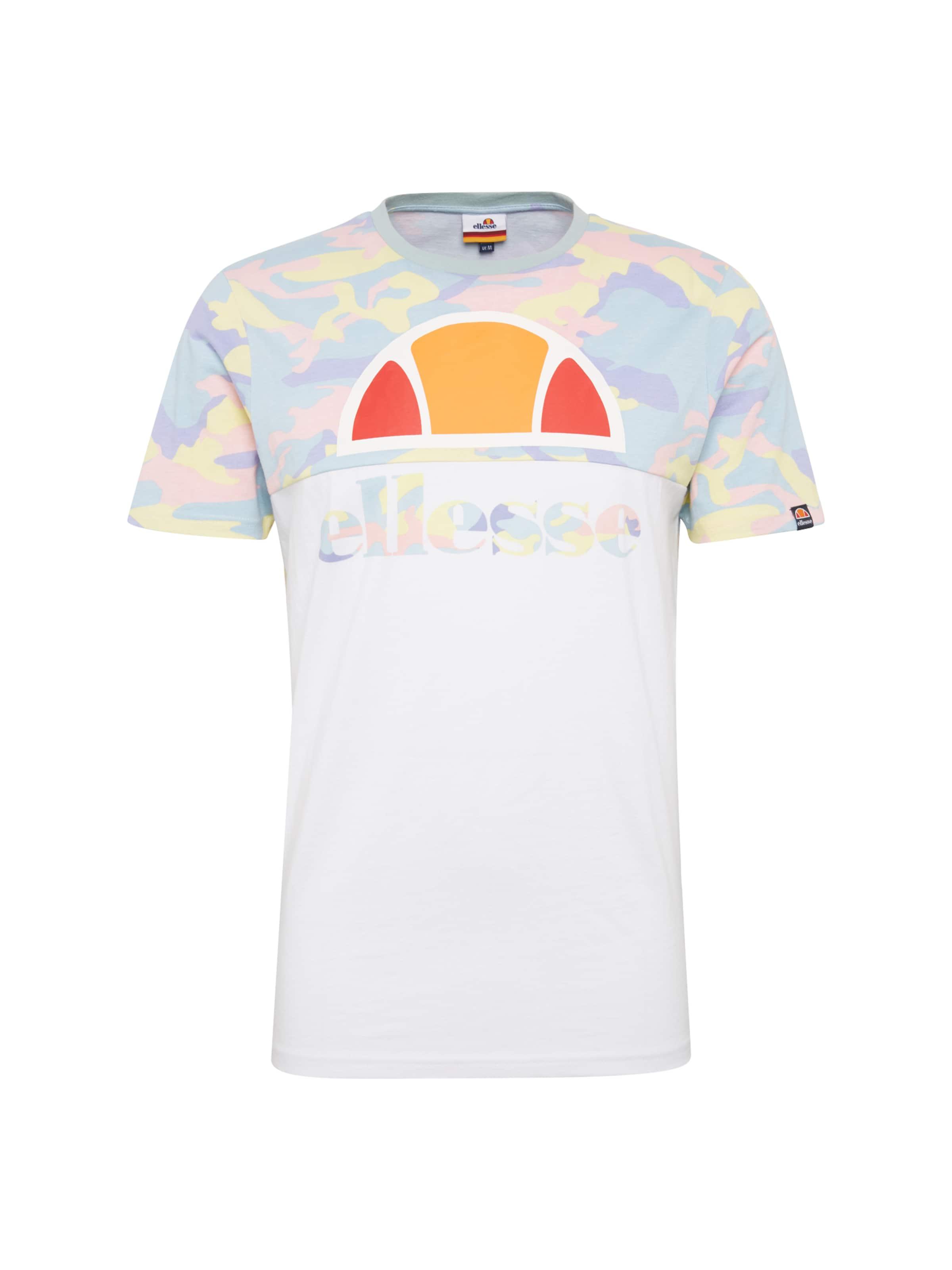 De Mélange CouleursBlanc Ellesse T shirt 'arbatax' En bvf76gyY