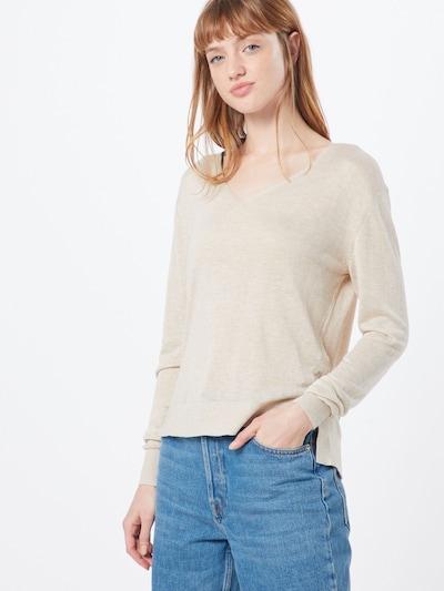 SELECTED FEMME Sweter 'SLFLINEL' w kolorze beżowym, Podgląd na modelu(-ce)