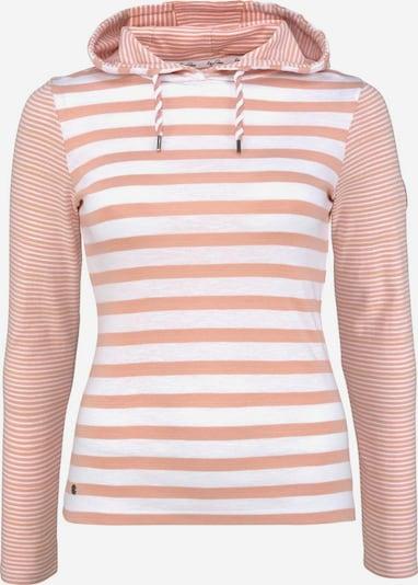 KangaROOS Kapuzenshirt in rosa / weiß, Produktansicht