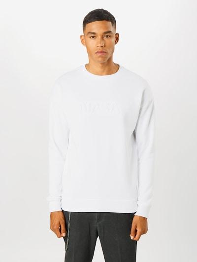 Mister Tee Sweat-shirt en blanc, Vue avec modèle