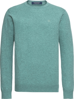 SCOTCH & SODA Trui 'Classic cotton melange crewneck pull'