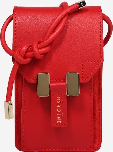 Maison Hēroïne Schoudertas 'Romy' in de kleur Rood, Productweergave