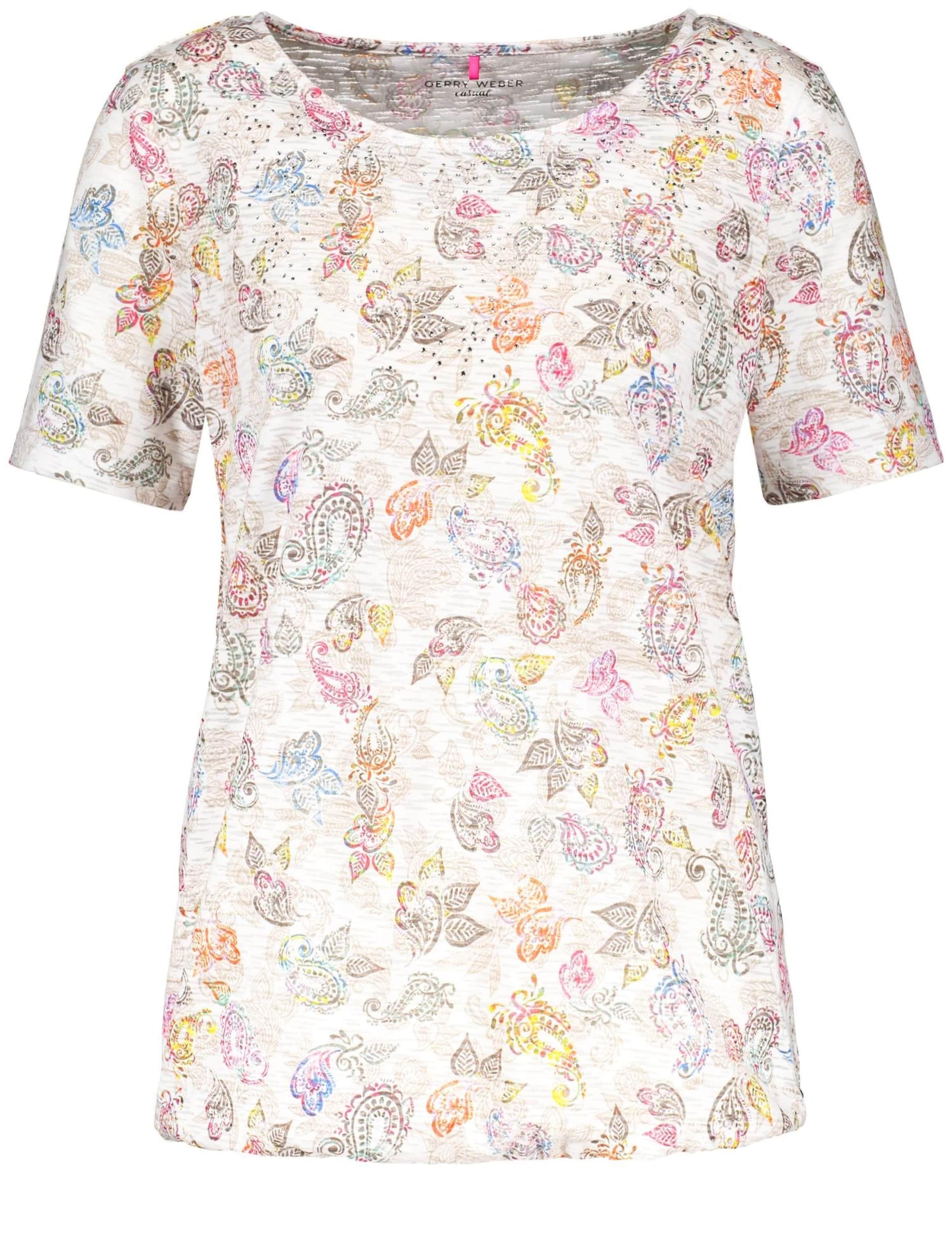 MischfarbenWeiß In T Gerry Weber shirt 8nOPk0w
