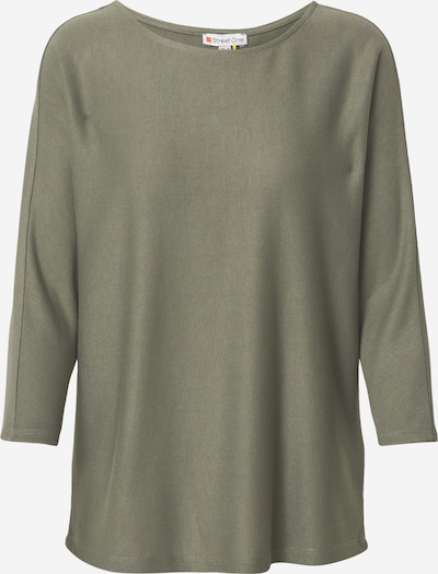 STREET ONE Shirt in khaki, Produktansicht