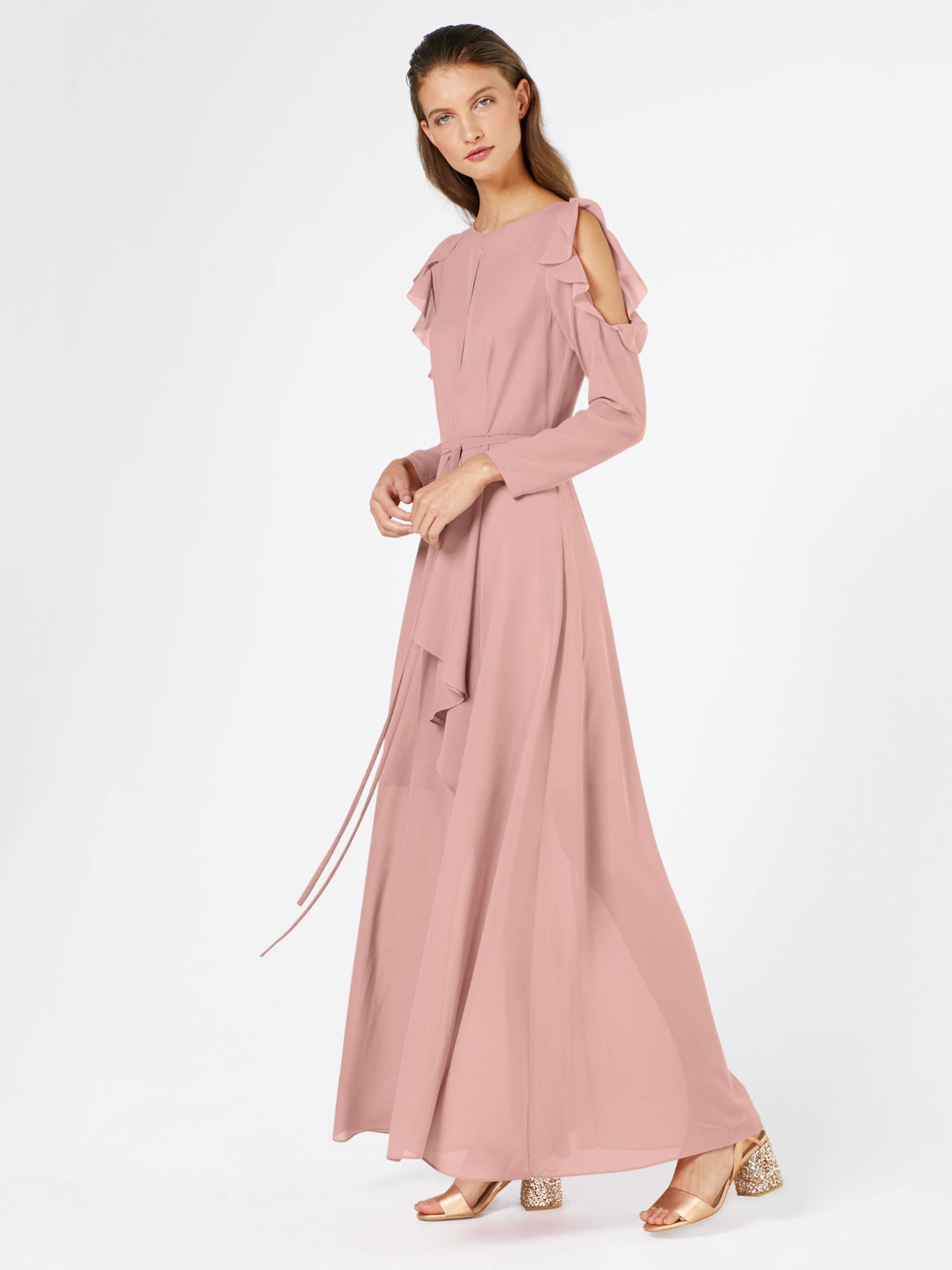 Abendkleid Rosa True Decadence Mit In Volants 3jqAR5c4L