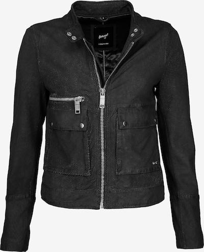 Maze Lederjacke perforiert ' Clermont ' in schwarz, Produktansicht