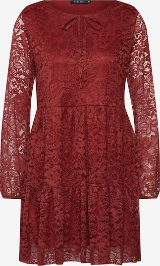 Sublevel Kleid in rot / orangerot, Produktansicht