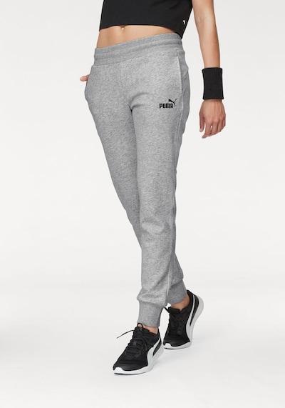 Pantaloni sport PUMA pe gri deschis: Privire frontală