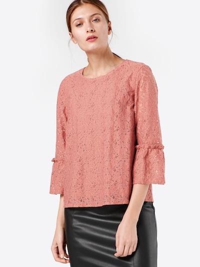 ONLY Spitzenbluse in rosé, Modelansicht