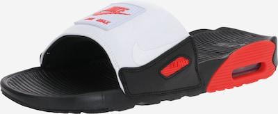 piros / fekete / fehér Nike Sportswear Papucs ' AIR MAX 90', Termék nézet