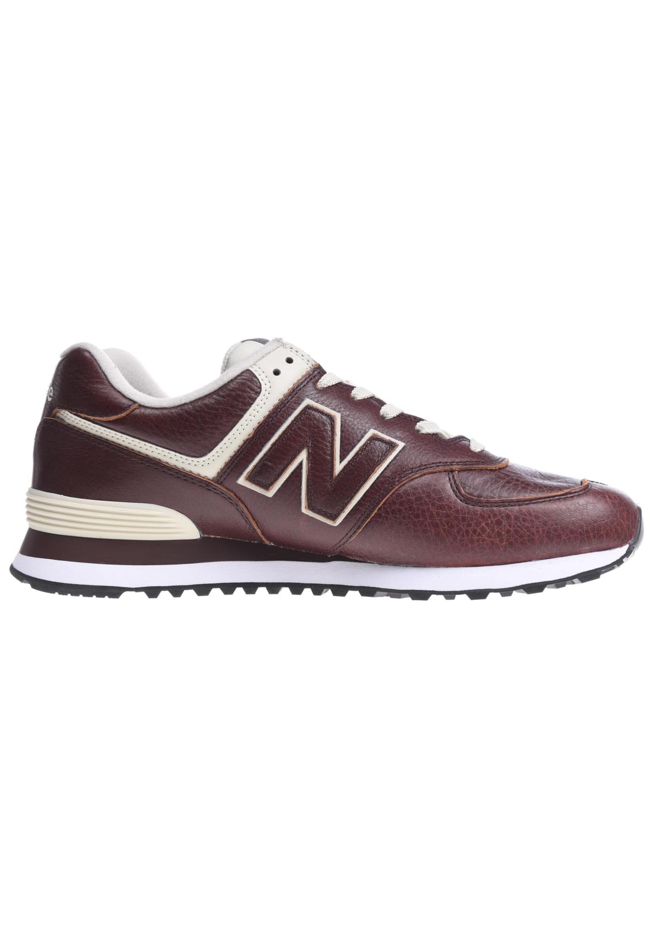 Balance HellbraunWeinrot Weiß In Sneaker D' New 'ml574 dsxtQrCh