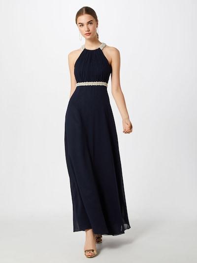 Vera Mont Kleid in creme / dunkelblau, Modelansicht