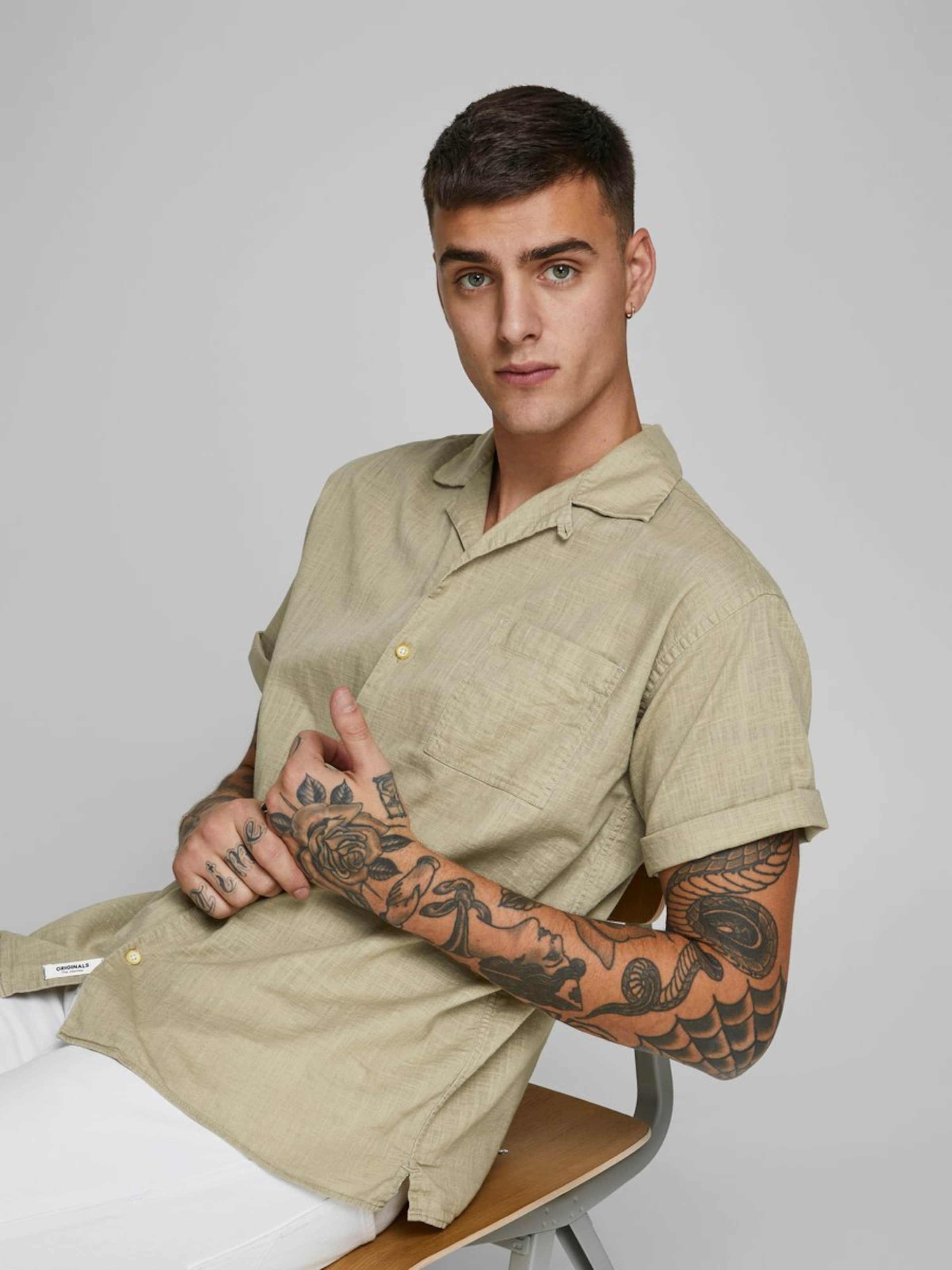 JACK & JONES Skjorta i beige