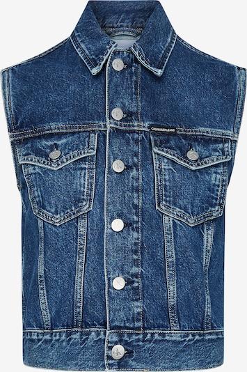 Calvin Klein Jeans Fitted Denim Vest ' ' in blau, Produktansicht