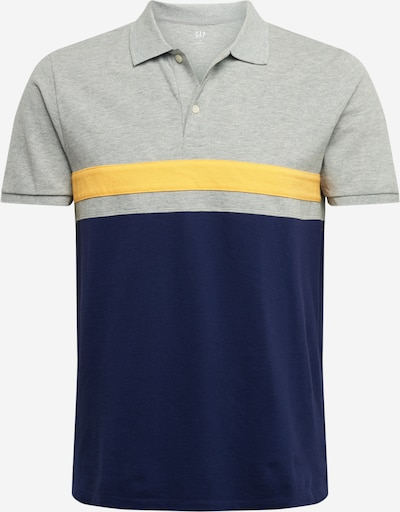 GAP T-Shirt 'YOKE' en bleu / jaune / gris, Vue avec produit