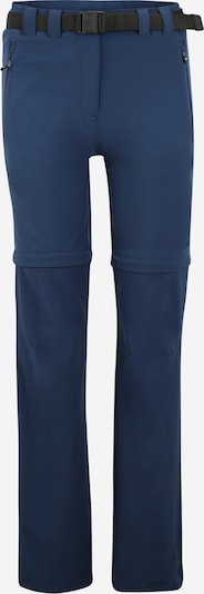 CMP Pantalon outdoor en bleu foncé, Vue avec produit