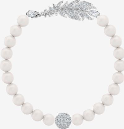 Swarovski Armband in silber / weiß, Produktansicht