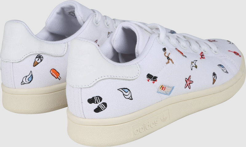 Adidas Originals Sneaker With Embroidery Stan Smith W