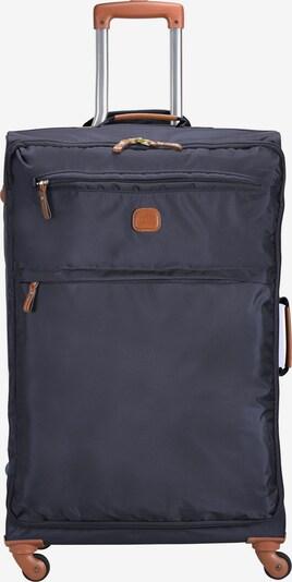 Bric's Trolley 'X-Travel' in de kleur Blauw / Bruin, Productweergave