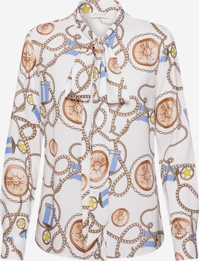 Rich & Royal Pluus segavärvid / valge, Tootevaade