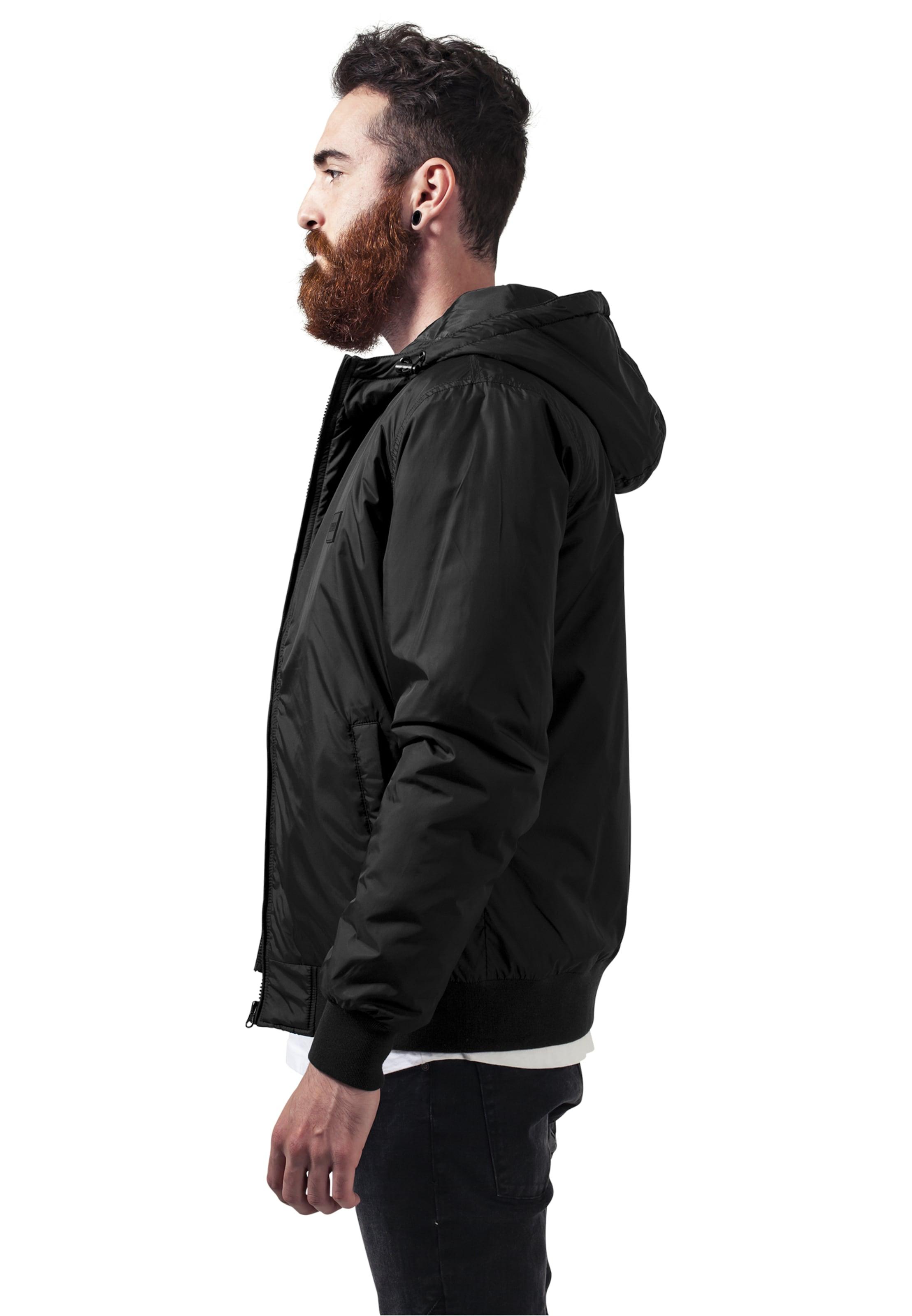 Urban Classics Jacket Schwarz In Windbreaker Padded vOmw80Nn