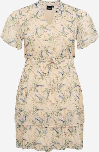 Zizzi Kleid 'MCIRKELINE' in beige, Produktansicht
