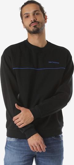new balance Sweatshirt 'MT93500' in graumeliert / schwarz / weiß, Produktansicht