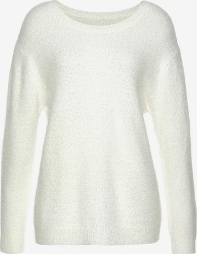 LASCANA Pullover in weiß, Produktansicht