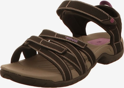 TEVA Sandale in braun, Produktansicht