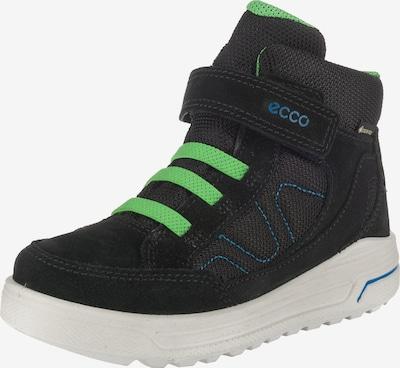 ECCO Winterboots 'Urban Snowboarder' in blau / neongrün / schwarz, Produktansicht