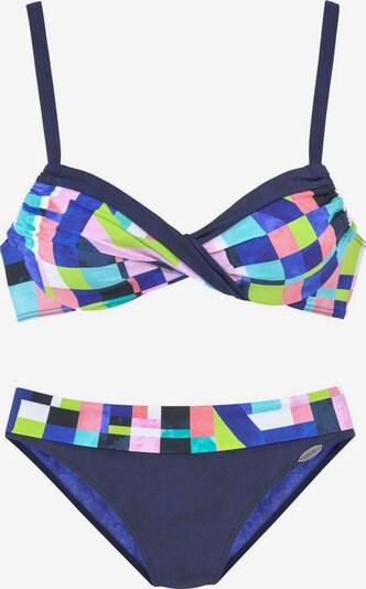 SUNFLAIR Bikini in marine / mischfarben, Produktansicht