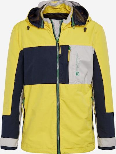 Pepe Jeans Tussenjas 'PRESTON' in de kleur Navy / Geel / Wit, Productweergave