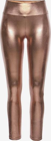 LASCANA Leggings in bronze / rosegold, Produktansicht