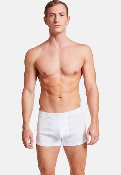 VATTER 'Tight Tim' Trunk Short in weiß, Modelansicht