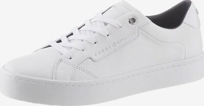 TOMMY HILFIGER Sneaker in weiß: Frontalansicht