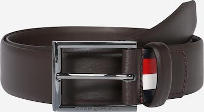 TOMMY HILFIGER Gürtel 3.5cm in navy / braun / rot / silber / weiß, Produktansicht
