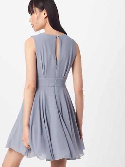 TFNC Kleid mit Tüllrock 'Nordi' in rauchblau: Rückansicht