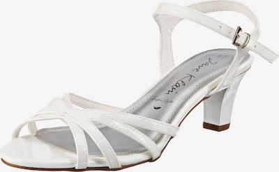 JANE KLAIN Riemchensandaletten in weiß, Produktansicht