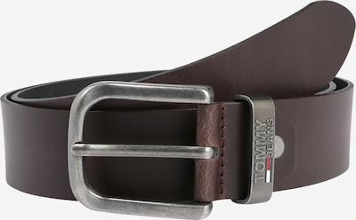 Tommy Jeans Ceinture 'ADJ 4.0' en brun foncé, Vue avec produit