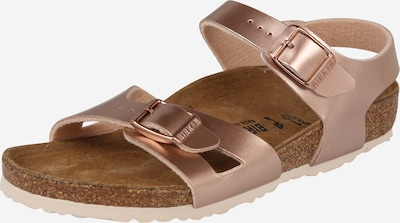 Sandale 'Rio' BIRKENSTOCK pe auriu - roz, Vizualizare produs