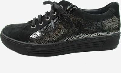 SOLIDUS Sneaker in schwarz / silber, Produktansicht