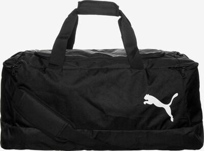 PUMA Sporttasche 'Pro Training II' in schwarz / weiß, Produktansicht