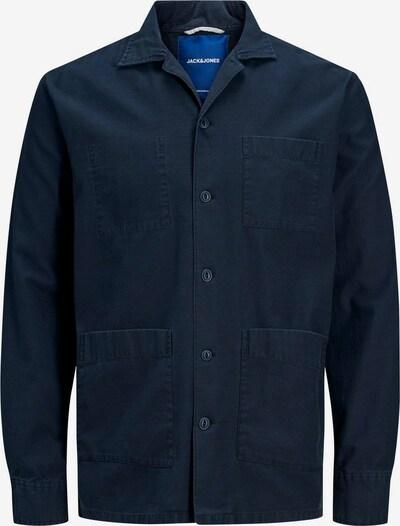 JACK & JONES Overhemd in de kleur Donkerblauw, Productweergave