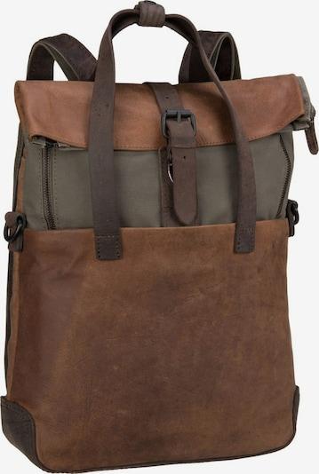 Harold's Rucksack 'Twister' in braun, Produktansicht