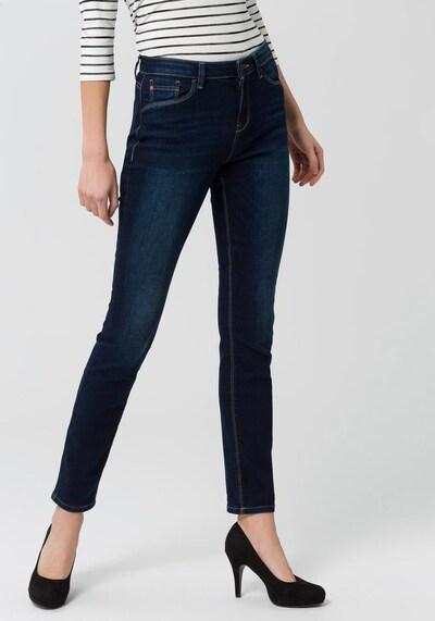 ESPRIT Jeansy w kolorze ciemny niebieskim, Podgląd na modelu(-ce)
