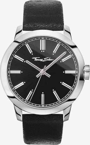 Thomas Sabo Uhr 'WA0312-203-203-46 mm' in Schwarz