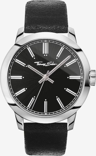 Thomas Sabo Uhr 'WA0312-203-203-46 mm' in schwarz / silber, Produktansicht
