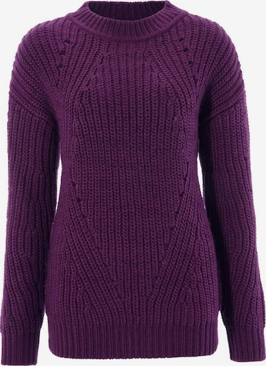 Aniston CASUAL Pullover in pflaume, Produktansicht