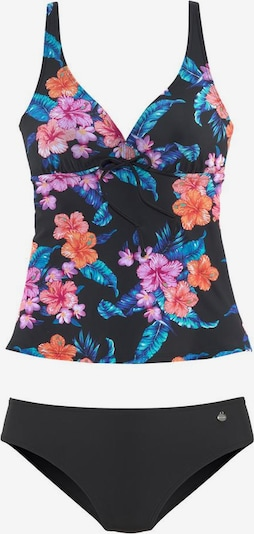 LASCANA Tankini in de kleur Gemengde kleuren / Zwart, Productweergave